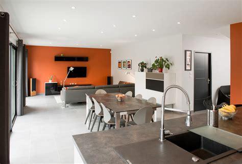 amenagement cuisine salon salle a manger un espace vitaminé