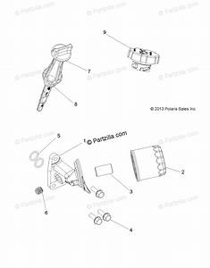 Polaris Atv 2018 Oem Parts Diagram For Engine  Oil Filter