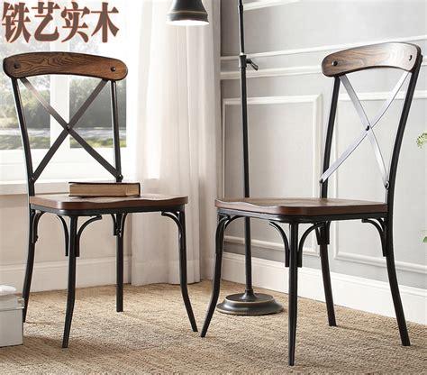 chaises style industriel loft industriel style vintage bois tables en fer
