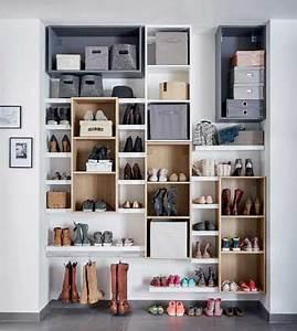 Rangement Chaussures Pas Cher : 8 astuces rangement pas cher pour la maison bricolage ~ Farleysfitness.com Idées de Décoration