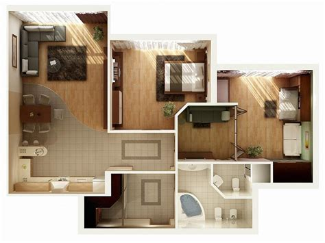 Two Bedroom House Design Pictures by 2 Bedroom Apartment House Plans