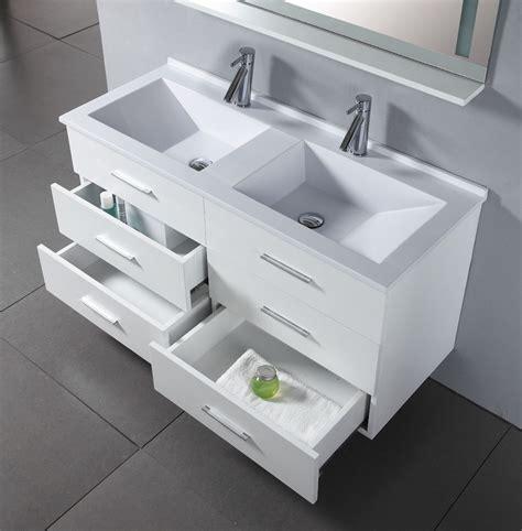 47 inch royal vanity wall hung vanity white sink vanity