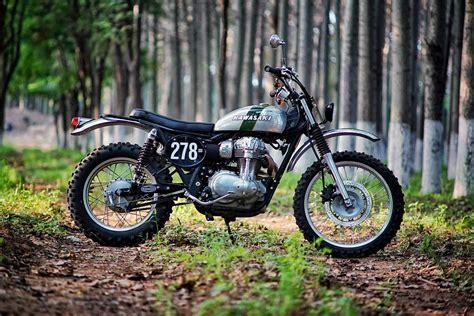 Kawasaki W800 Scrambler By Mandrill Garage
