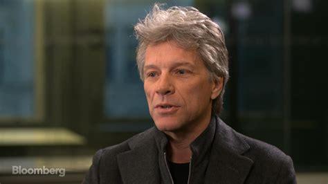 Jon Bon Jovi Runaway Tours Began Out Boredom Bloomberg