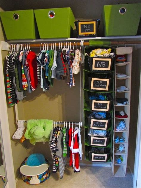 closet organization baby closets and baby brothers on