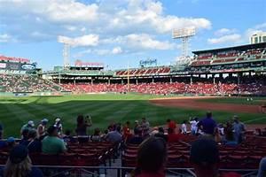 Fenway Park Section Loge Box 163 Row Ff Seat 2 Boston