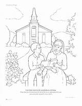 Coloring Cathedral Pages Church Getcolorings sketch template