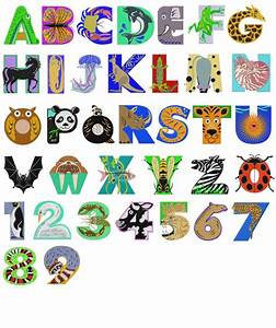animal shaped font wwwpixsharkcom images galleries With alphabet letters that look like animals
