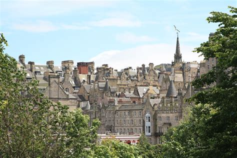 photo edinburgh scotland  town  image