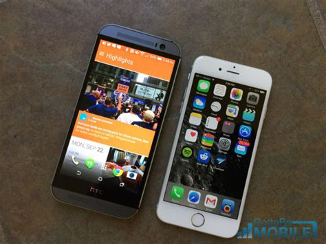 htc one m8 vs iphone 6 iphone 6 vs htc one m8 what buyers need to