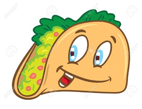 Pencil And In Color Drawn Taco Animated