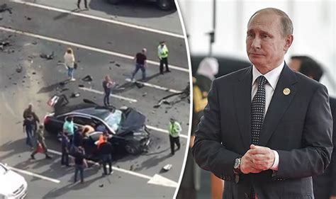 Putin Car Crash by Putin S Driver Killer As Official Car Smashed In On