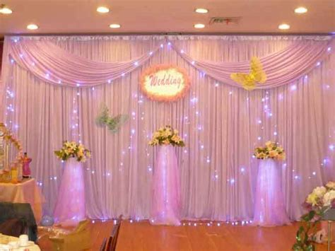 curtain backdrop decorations decorate the house with