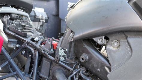 installing a k n air filter on the 2009 bmw r1200 gs adventure