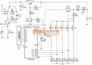 Four Channels Interlock Control Circuit Schematic