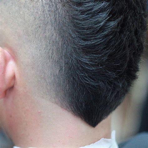 hairstyles  men   shaped neckline hair