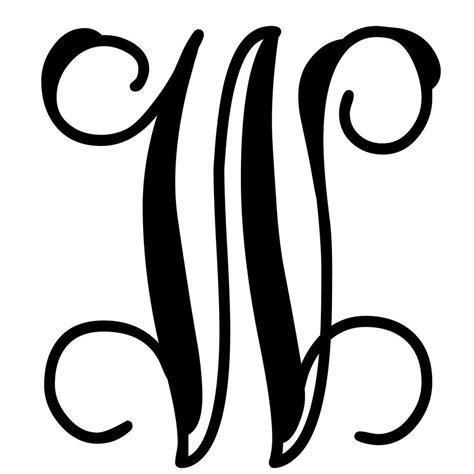design monogram letter initial great
