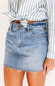 Best 20+ Denim Mini Skirt ideas on Pinterest | Jean skirt style Overalls and Holiday outfits