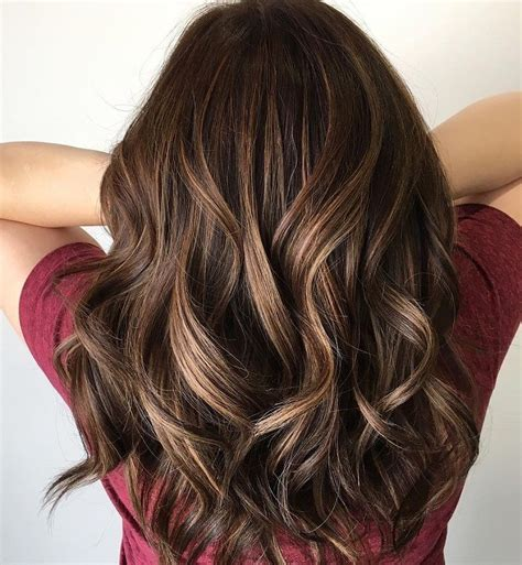 beautiful brown hair color  highlights youll