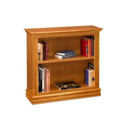 Bookcases Cherry Finish by 36 In Bookcase W 2 Shelves In Cherry Finish Walmart