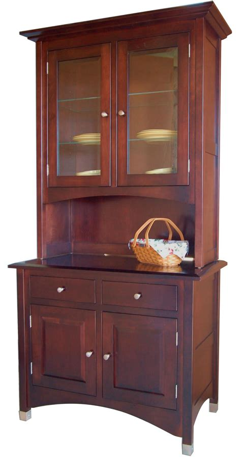amish handcrafted lexington hutch  dutchcrafters amish