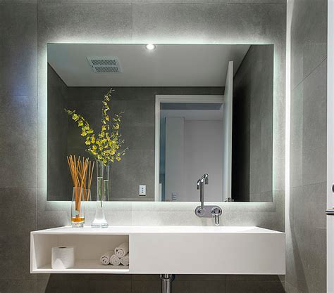 Light Mirror In Bathroom by How To Select Mirror Lighting Pivotech