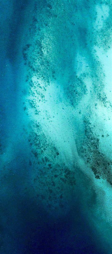 Iphone 11 Wallpaper Minimal by Ios 11 Iphone X Aqua Blue Water Wave Apple