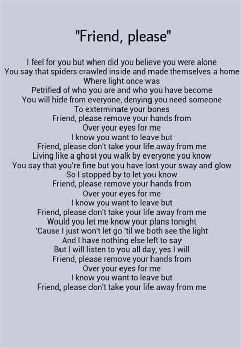 meaningful lyrics  tumblr