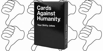 Humanity Cards Against Jokes Shitty Deck
