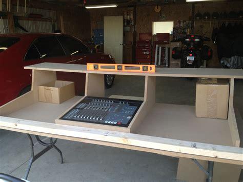 DIY Recording Studio Desk Plan