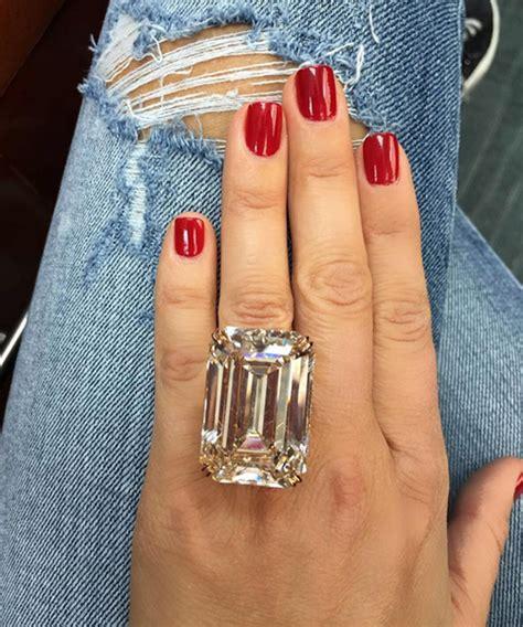 wear   carat diamond engagement ring