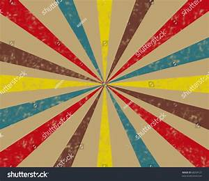 Vintage Circus Tent Background In Tan, Brown, Red, Teal ...