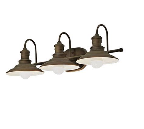 Rustic Bathroom Light Fixtures by Bathroom Light Fixture Bronze Vanity Industrial Rustic