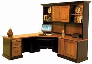 custom wood office desks » woodworktips