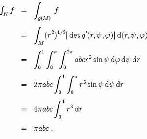 Integral Online Berechnen : mathematik online aufgabensammlung l sung zu aufgabe 1344 volumen und integral eines ellipsoids ~ Themetempest.com Abrechnung
