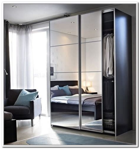 Wardrobe Closet With Mirror Doors by Ikea Sliding Doors Wardrobe Live Well Home In 2019