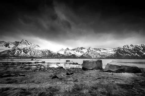 Et Images Photos Noir Blanc Des Iles Lofoten Nature Photographie