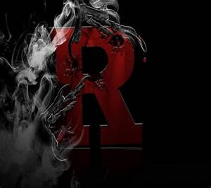 Download Letter R wallpapers to your cell phone - black ...