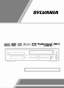 Sylvania Dvd Vcr Combo Ssd800 User Guide