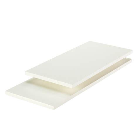 Melamine Window Sills by 45 White Laminate Shelf Boards White Melamine Shelves The