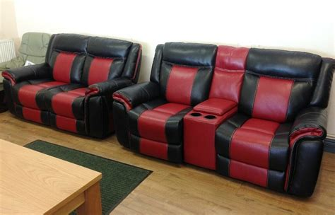 scs settees scs baxter black electric reclining 2 2 sofa