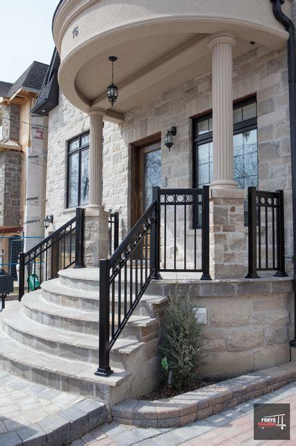 front porch railing aluminum front porch railings