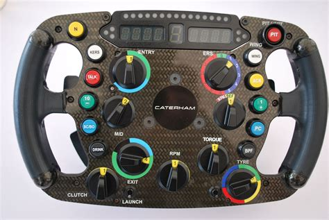 si e auto 1 come funziona il volante di un 39 auto di formula 1