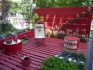 Terrasse Avec Palette : meubles palettes cherry plum ~ Melissatoandfro.com Idées de Décoration