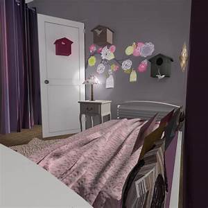 deco chambre bebe fille liberty With modele deco chambre fille
