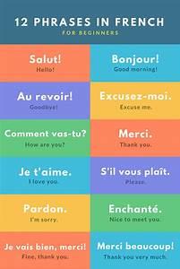 Basic French Phrases for Travel | French | Pinterest ...