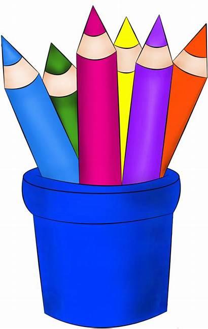 Classroom Clipart Crayons Pencils Themes Transparent Pinclipart