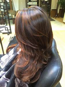 Copper caramel highlights | Hair | Pinterest | Caramel ...