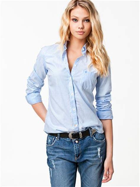 light blue blouse for women classic oxford shirt morris light blue blouses