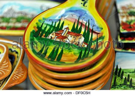 orvieto ceramic shop colorful shop front display of flickr europe italy umbria colorful ceramic display plates stock photo royalty free image 2777036 alamy